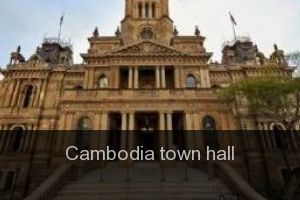 Cambodia Town hall