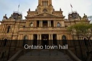 Ontario Town hall