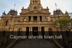 Cayman islands Town hall