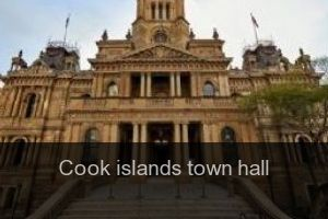 Cook islands Town hall