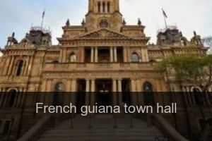 French guiana Town hall