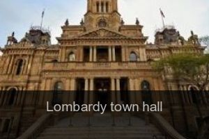 Lombardy Town hall