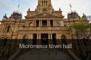 Micronesia Town hall